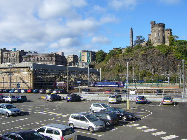 Waverley Station car park, East Market Street