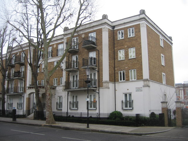 Russell Road flats