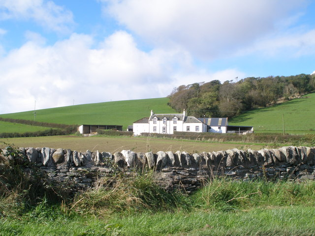 Farm house at West St Colmac Ettrick Bay Bute