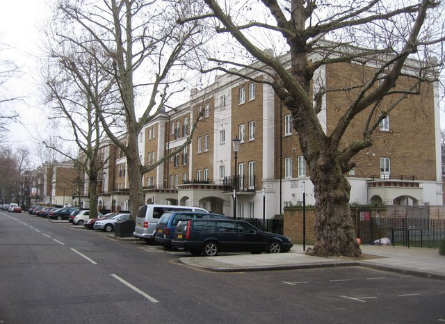 New style flats in Russell Road