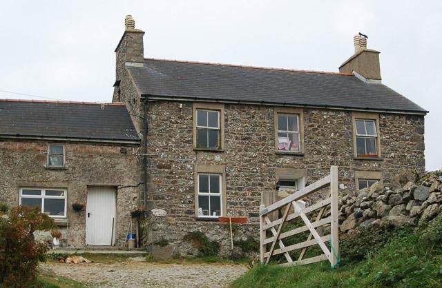 Cottage at Upper Porthmawr Farm, Whitesands Bay