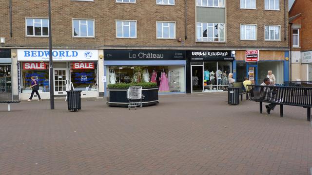 Shops in Elizabeth Square, Bletchley