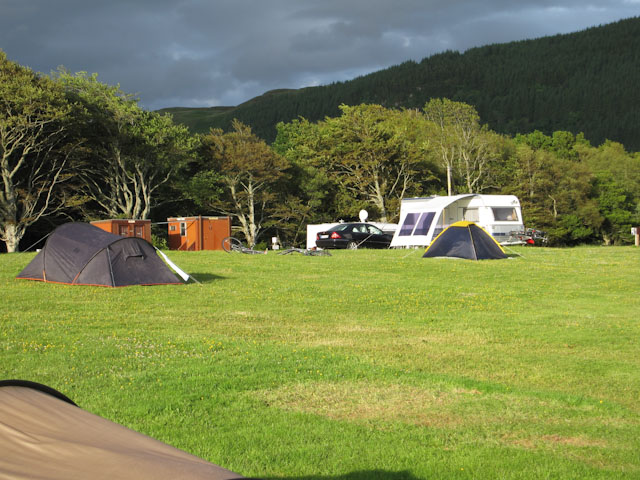 Kiel Crofts campsite