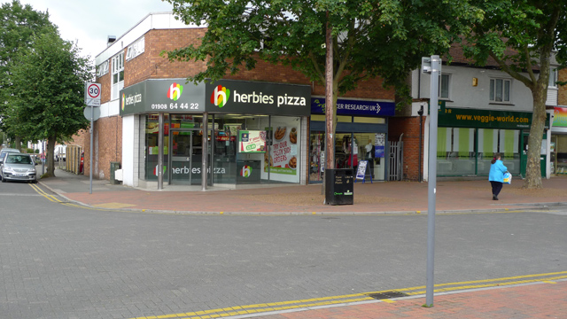 Herbies pizza, Queensway, Bletchley