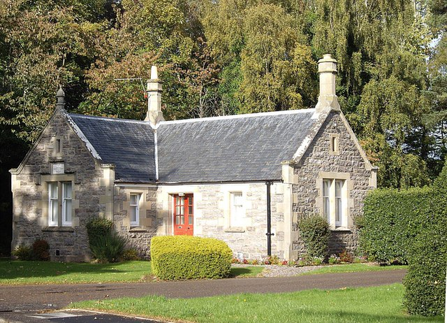 Cottage by St Leonard's Road in Forres