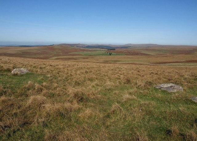 Moorland near Willings Walls Warren