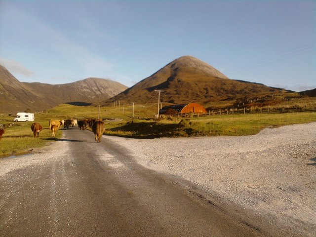 On the road to Elgol