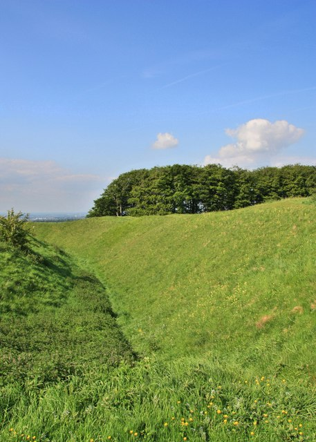 Barbury Castle, Wiltshire