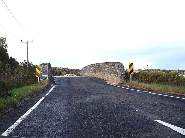 Bridge over the railway near Brodie Castle