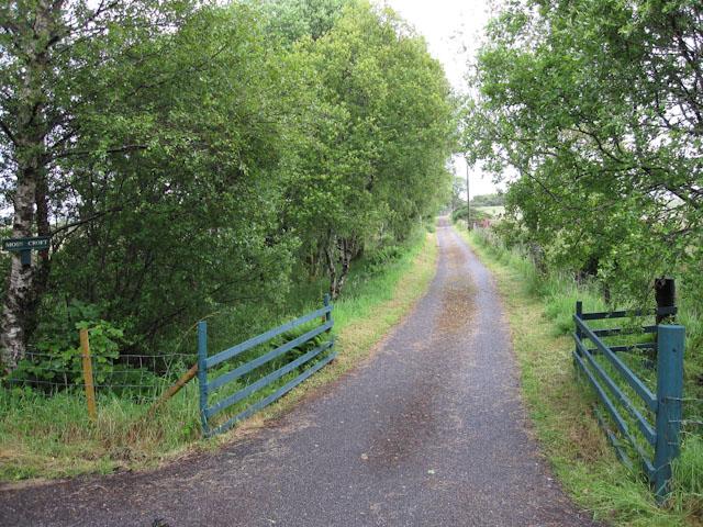 Track to Moss Croft