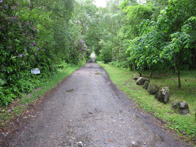 Track to Ardrannoch