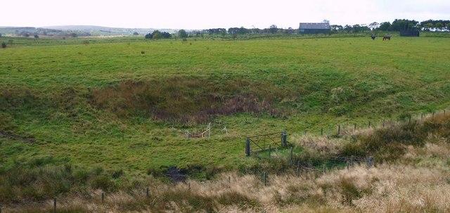 Old Coal Pit near Fannyside