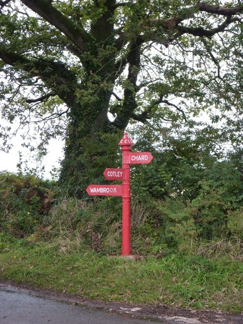 The Red Post, between Chard and Wambrook