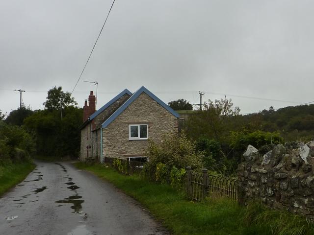 House opposite Lancin Farm