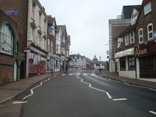 High Street, Crowborough
