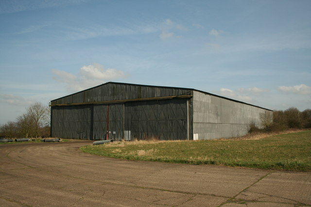 WW2 T2 Hangar