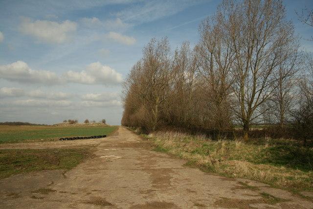 Former Main Runway RAF Desborough