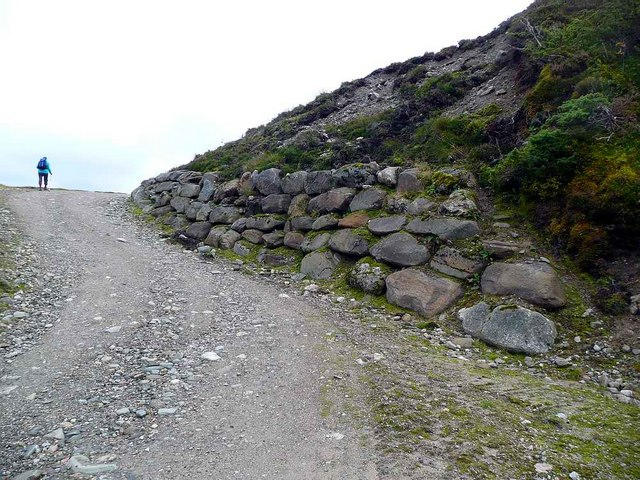 Track improvements by the Allt Mor