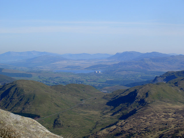 The view towards Trawsfynydd from Moel Siabod