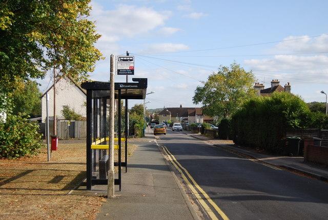 Bus Stop, Audley Avenue