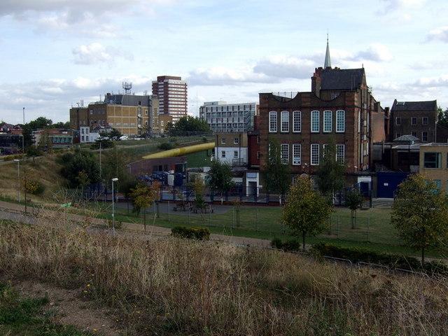 View towards the Green Bridge