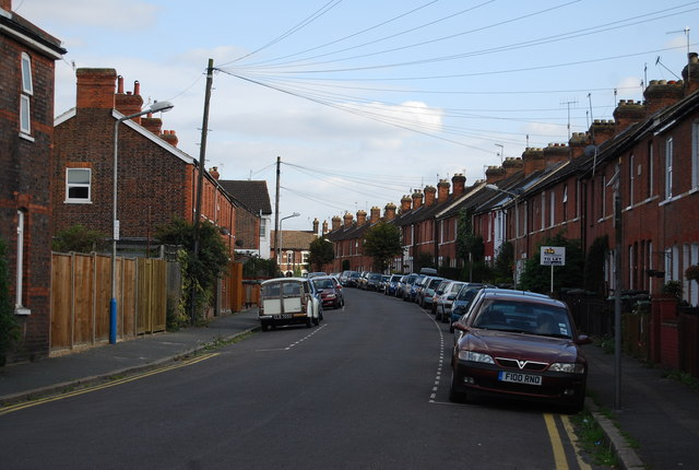 Terraced housing, Nelson Avenue