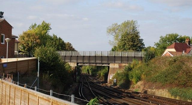 Audley Avenue bridge