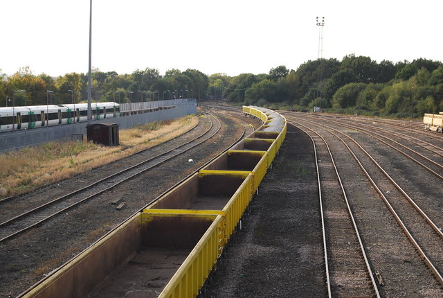 Wagons in the sidings