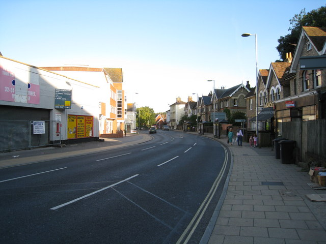 View along City Road - Winchester