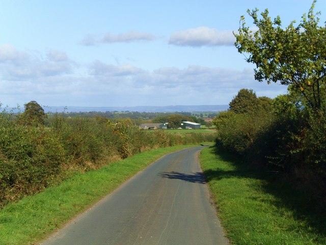 Lane to Moor Farm