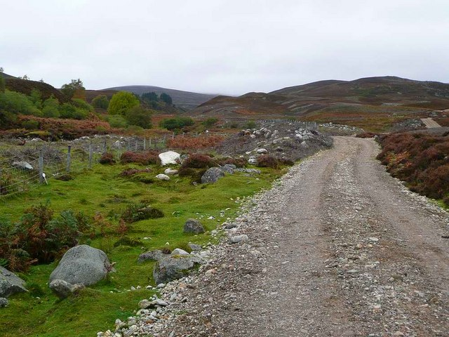 The track to Beinn Bhreac