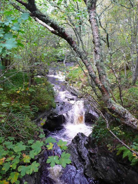 The Gynack Burn at Kingussie Golf Course