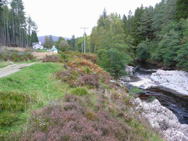River Feshie below Feshiebridge