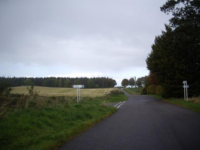 Junction for Macbeth's Hillock
