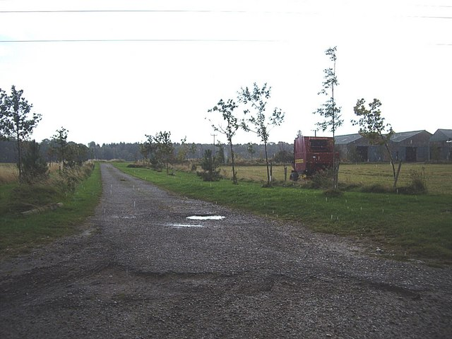 Access road to Cotterton