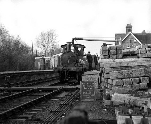 Wainwright Class P loco at Sheffield Park