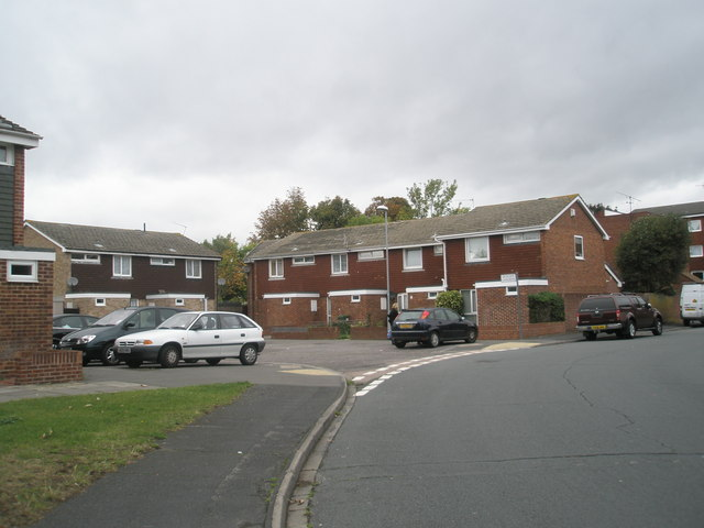 Junction of The Ridings and Oldgate Close