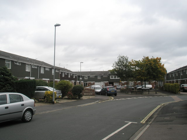 Junction of The Ridings and Newney Close