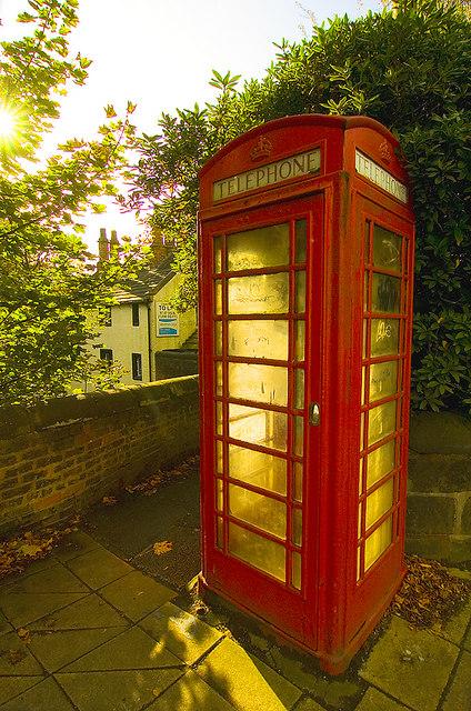 Phone box, Worsley