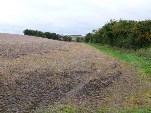 Countryside near Crawthorne Farm
