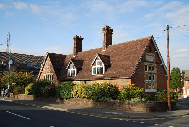 The former Tonbridge Girls School