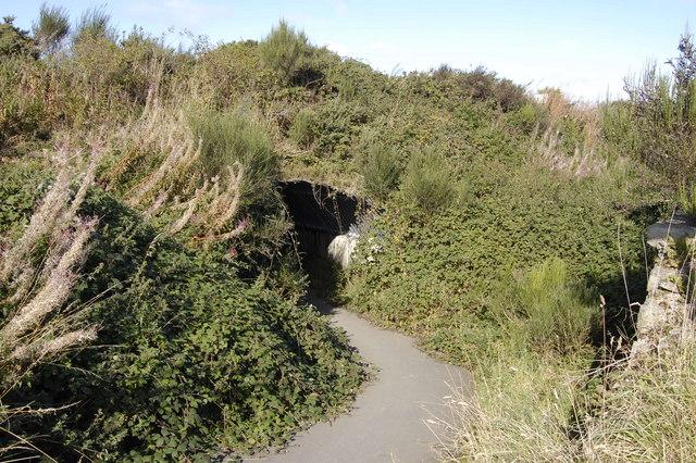 Bike Path under the A947