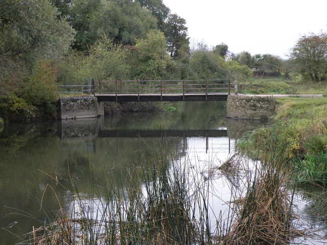 Footbridge over the Ouse