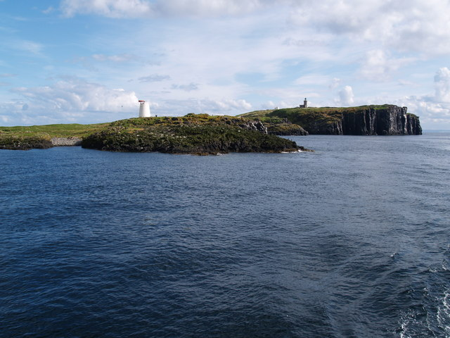 North Ness and North Fog Horn, Isle of May
