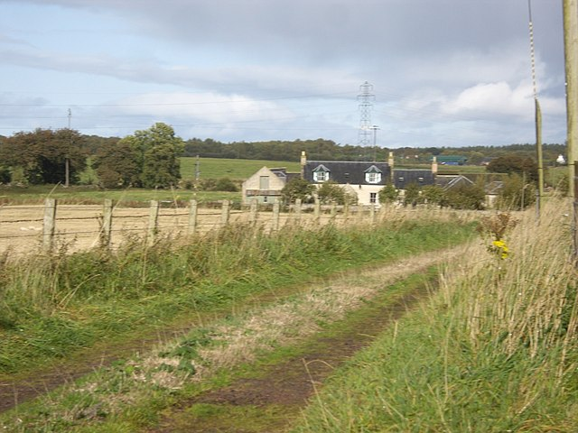 Track to Bogside of Boath