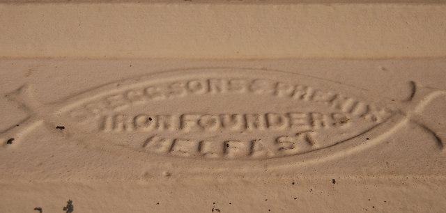 Ironfounders' plate, Belfast