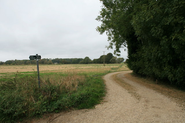 Footpath off Mill Lane, Lechlade