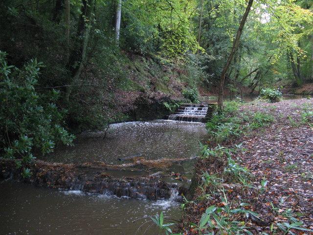 Weir on pond system