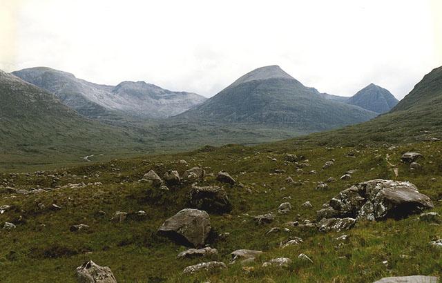 Slopes below Coire Briste