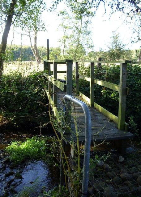 Footbridge over the beck